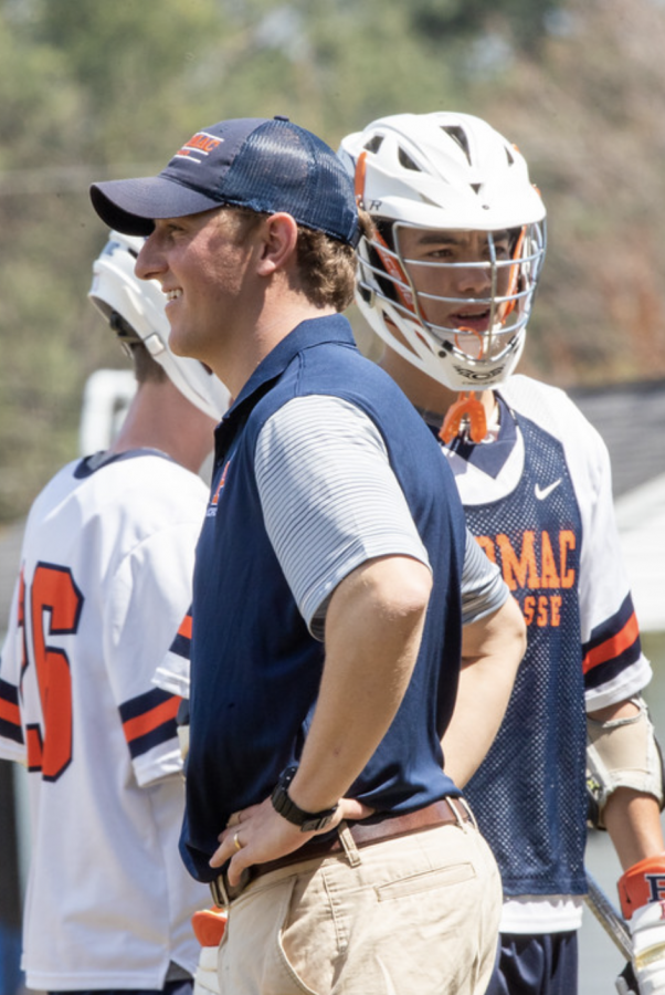 Coach Via to leave Potomac with a five-year lacrosse legacy.