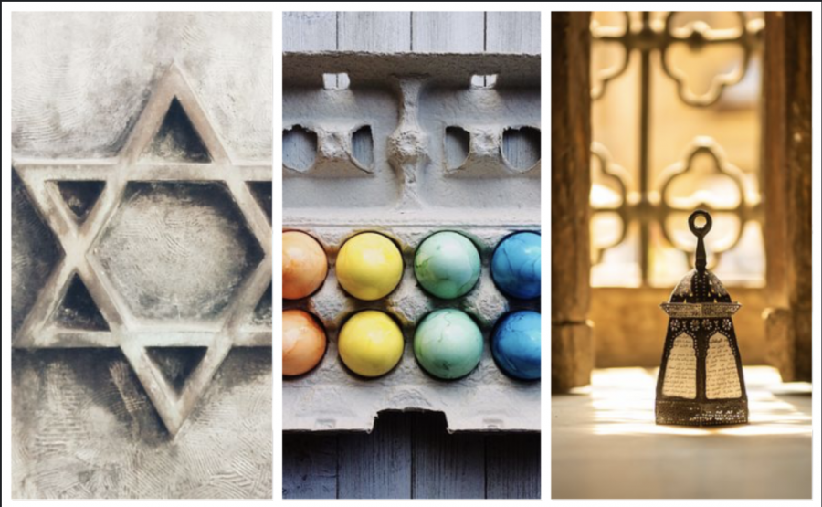 Celebrations of religious holidays take a virtual form this spring.