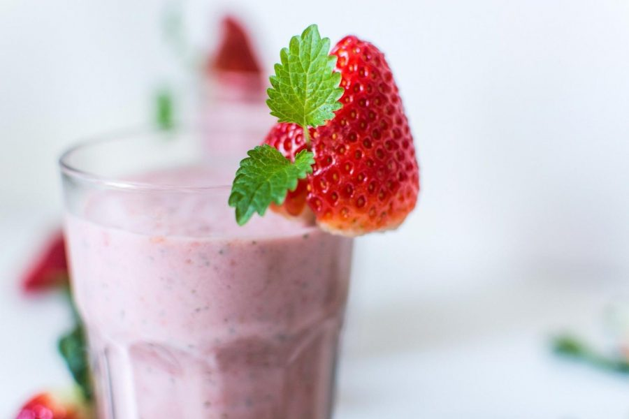 A similarly beautiful and delicious smoothie image credit: pixabay.com