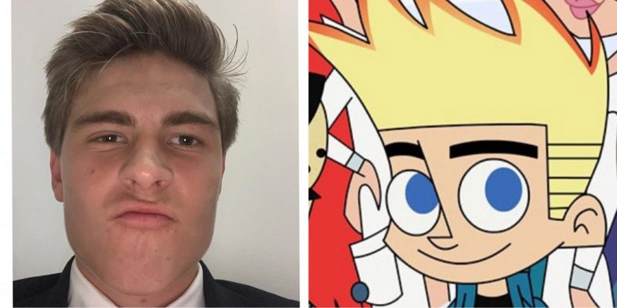 Johnny Test is the main character of the Warner Bros TV Show Johnny Test. Johnny Test and Brennan love their unnaturally colored tips as well as their simp lifestyle.