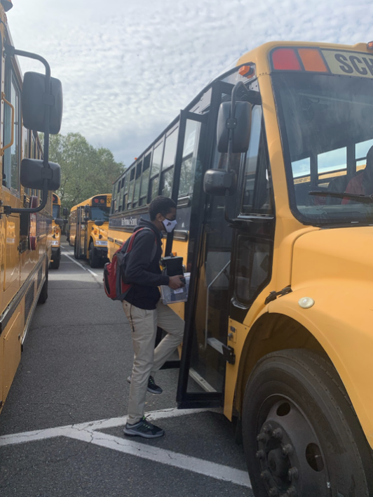 Potomac's Bus Fleet gets on board with the Orange and Yellow Plans