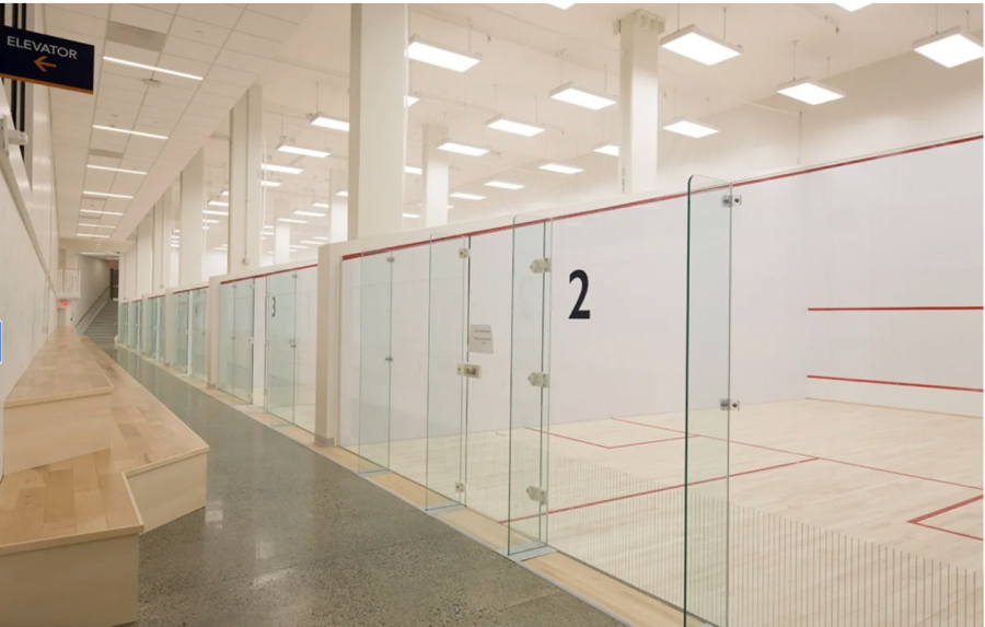Squash courts remain empty as winter competition has been pushed back to January first.