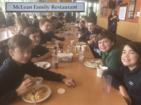 The Class of 2022 is  excited for MFR to take over the cafeteria!